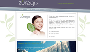 Zurego Health & Beauty Website Design, Build, Hosting, SEO by Innaxsys