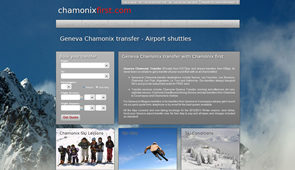 Chamonix First Home Page